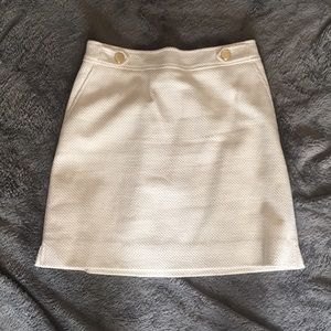 White/cream Ann Taylor skirt -never worn